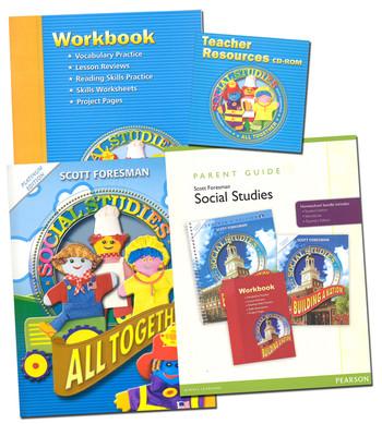 Scott Foresman Social Studies Bundle - Grade 1