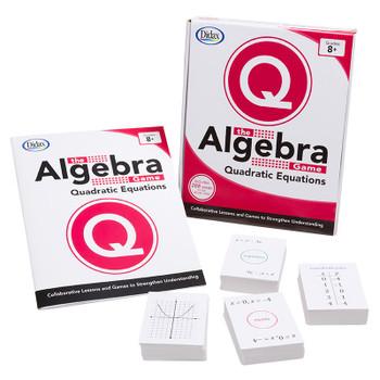 The Algebra Game: Quadratic Equations Basic