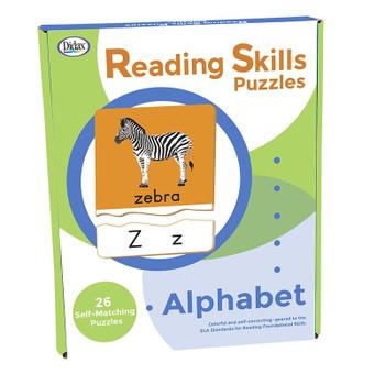 Reading Skills Puzzles: Alphabet