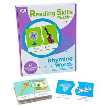 Reading Skills Puzzles: Opposites