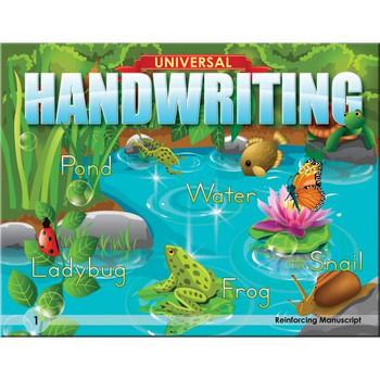 Universal Handwriting Grade 1 Reinforcing Manuscript