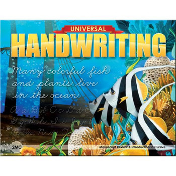 Universal Handwriting Grade 2MC Manuscript Review & Introduction to Cursive