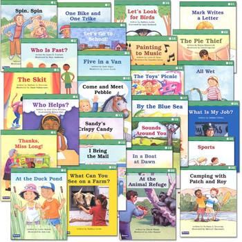 Saxon Phonics Grade 1 Fluency Readers Set - Easy