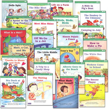 Saxon Phonics Grade 1 Fluency Readers Set - Average