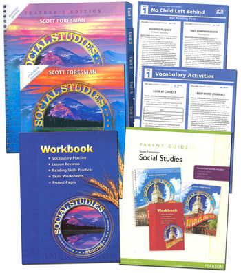 Scott Foresman Social Studies Grade 4 Bundle - Regions