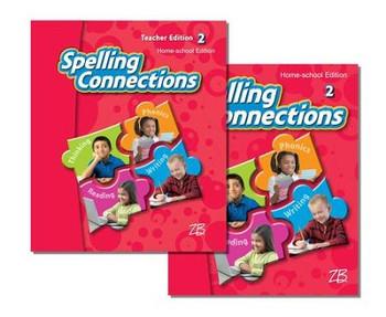 Zaner-Bloser Spelling Connections Grade 2: Student & Teacher HS Bundle