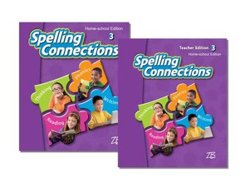 Zaner-Bloser Spelling Connections Grade 3: Student & Teacher HS Bundle