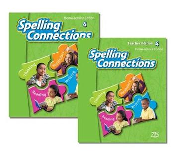 Zaner-Bloser Spelling Connections Grade 4: Student & Teacher HS Bundle