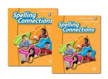 Zaner-Bloser Spelling Connections Grade 5: Student & Teacher HS Bundle