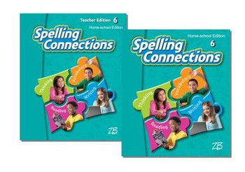 Zaner-Bloser Spelling Connections Grade 6: Student & Teacher HS Bundle