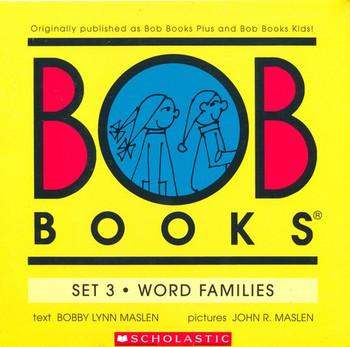My First Bob Books, Set 3 : Word Families
