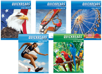 Quick Reads Level A Student Book 3 - 6 pack