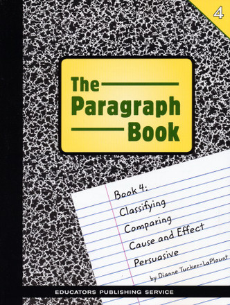 The Paragraph Book 4 Student Book