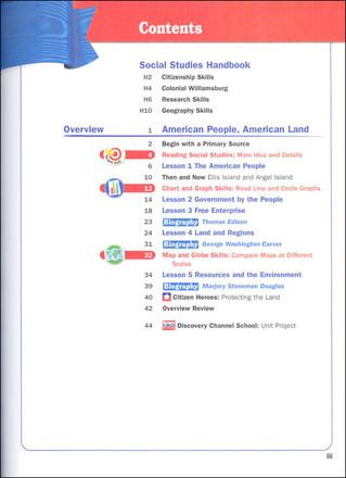 Scott Foresman Social Studies Grade 6 Student Edition Building A Nation