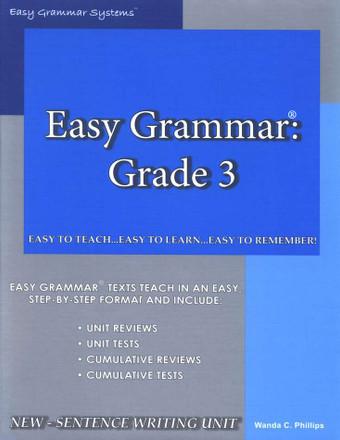 Easy Grammar Grade 3 Teacher's Edition