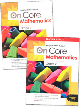 On Core Mathematics - Houghton Mifflin Harcourt - Grade 2 Bundle