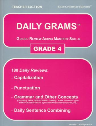 Daily Grams Grade 4
