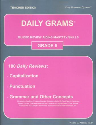 Daily Grams Grade 5