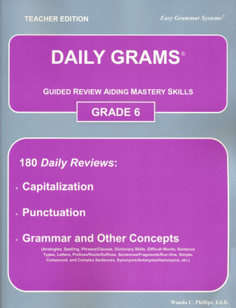 Daily Grams Grade 6