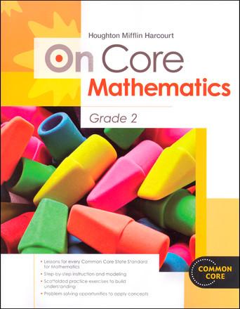 On Core Mathematics - Houghton Mifflin Harcourt - Grade 2 Student Worktext
