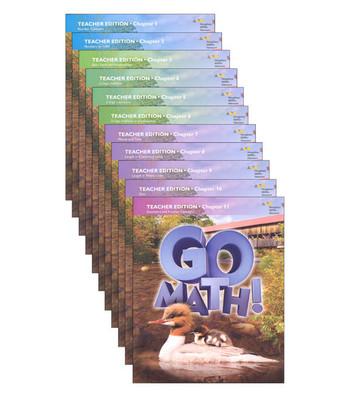 Go Math Grade 2 2015 Teacher Edition