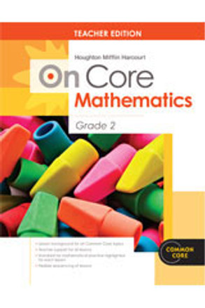 On Core Math Houghton Mifflin Harcourt Grade 2 Teacher Edition Without Blackline Master