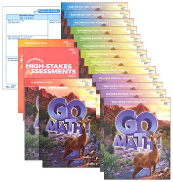 Go Math 2016 Grade 6 Bundle