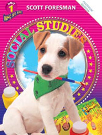 Scott Foresman Social Studies Grade K Student Workbook - Here We Go
