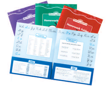 Saxon phonics homework folders