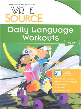 Write Source Grade 4 Daily Language Workouts