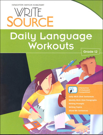 Write Source Grade 12 Daily Language Workouts