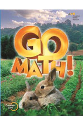 Go Math Grade K Grab and Go Classroom Manipulatives Kit 2012