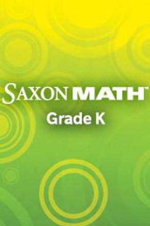Saxon Math Grade K 24 Student Kit