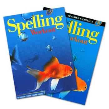Spelling Workout Level B Bundle Grade 2