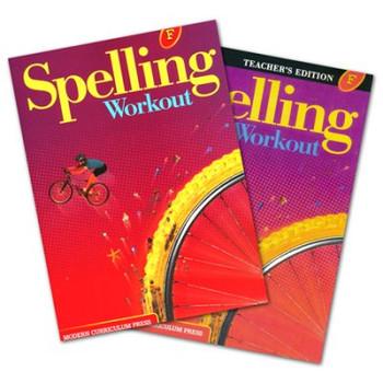 Spelling Workout Level F Bundle Grade 6