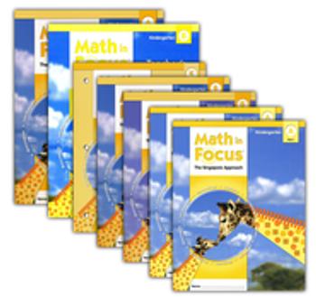 Math in Focus Grade K Student Pack