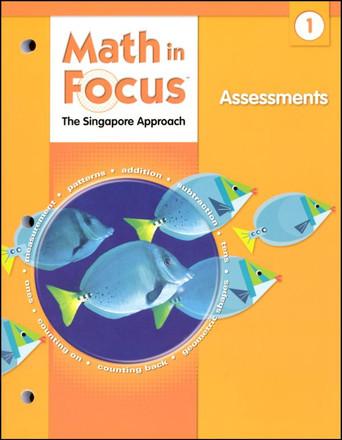 Math in Focus Grade 1 Assessments Homeschool