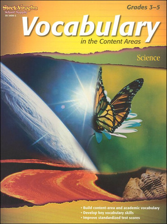 Vocabulary In The Content Areas - Science Grades 3-5