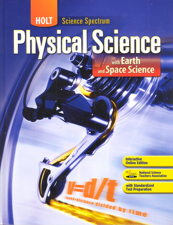 Holt Physical Science With Earth and Space Science Teacher & Student Package