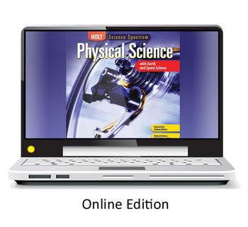 Holt Physical Science One Year Online Access Renewal Code