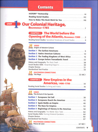 Holt McDougal United States History Grades 6 8 Student Textbook