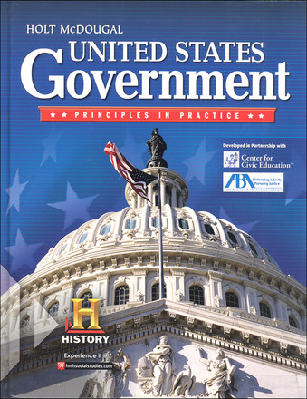 Holt McDougal United States Government