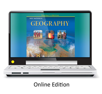 Holt McDougal Geography Grades 9-12 One Year Online Access Renewal Code