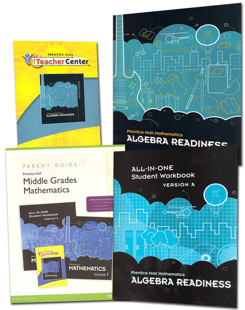 Prentice Hall Mathematics Algebra Readiness Student Teacher Bundle
