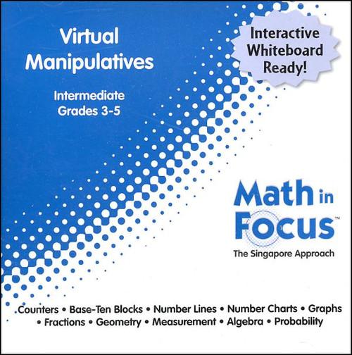 Math In Focus Intermediate Gr 3-5 Virtual Manipulatives
