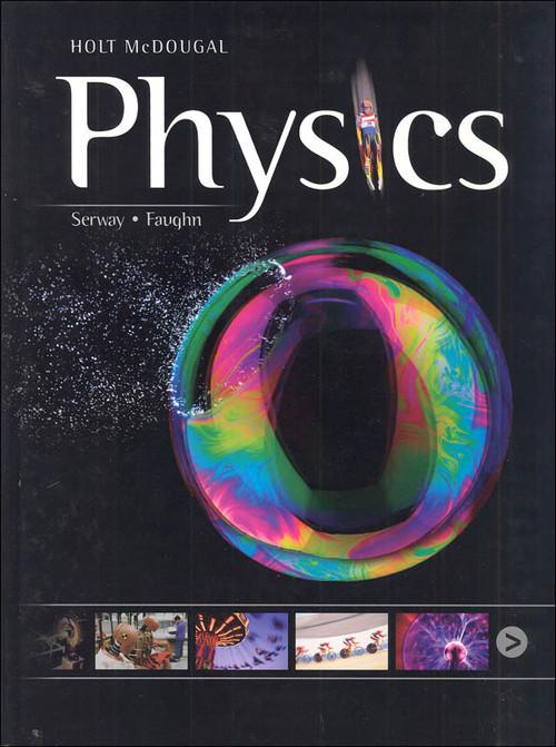 Holt McDougal Physics Teacher Student Package