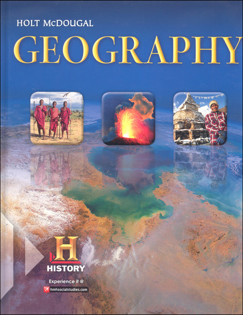 Holt McDougal Geography Grades 9 12 Teacher Student Package