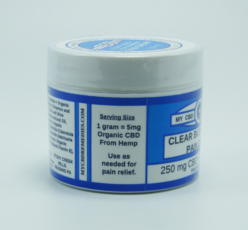 My CBD Remedies - Aromatherapy Pain Cream (250 mg, 500 mg)
