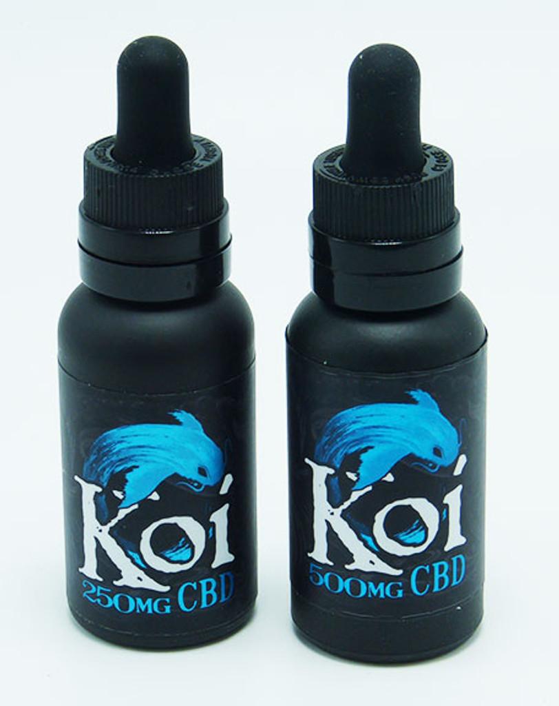 Blue Koi
