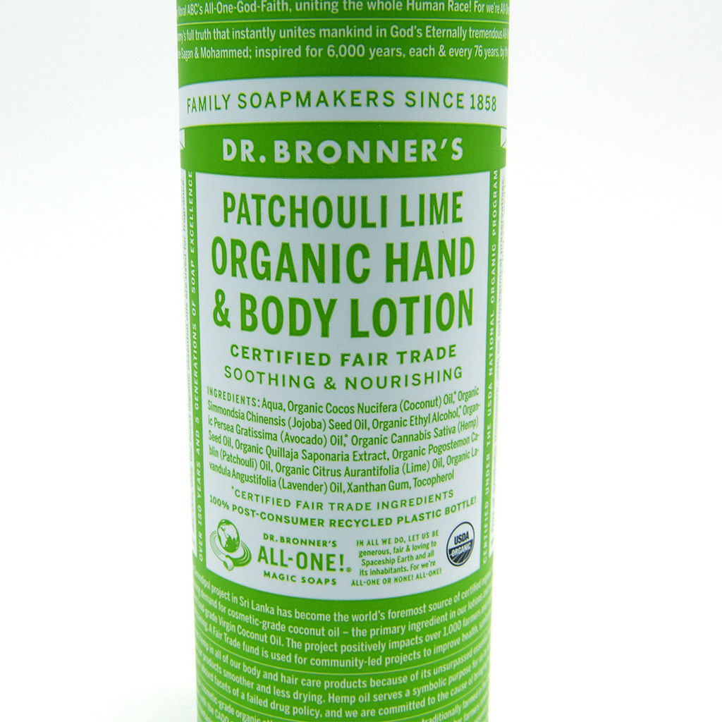 Dr. Bronner's Organic Hand & Body Lotion (3 scents)